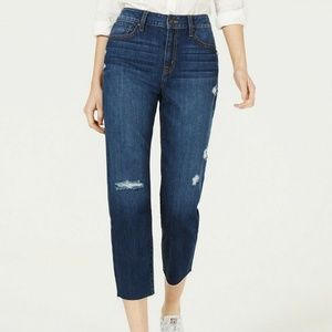 Rewash Juniors' Ripped Cropped Jeans 9